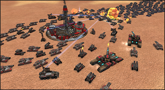 Conquer Mars Battle - In game 3